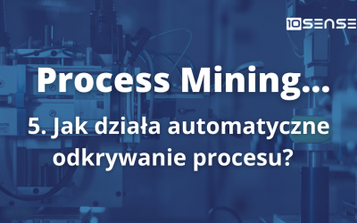 Jak działa automatyczne odkrywanie procesu w process mining?